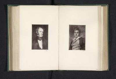 Fotoreproductie van een schilderij, voorstellende een portret van John Hamilton Gray