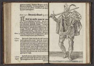 Karel de Stoute; Affkomst ende korte historie der graven van Hollandt Zeelandt ende Vrieslandt; Graven en gravinnen van Holland