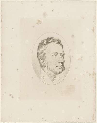 Portret van Willem I Frederik, koning der Nederlanden