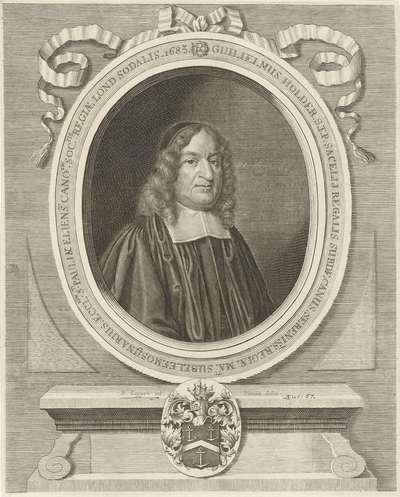 Portret van William Holder