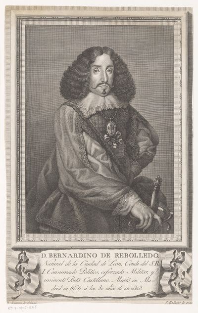 Portret van Bernardino de Rebolledo