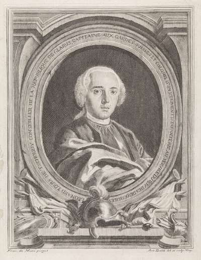 Image from object titled Portret van Louis Leonard Tschudi