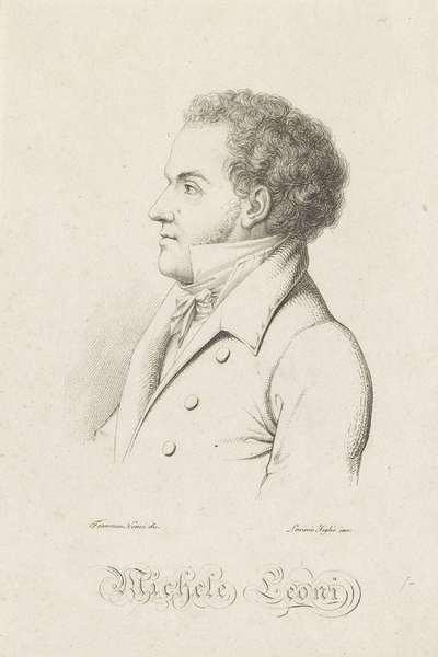 Portret van Michele Leoni