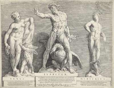 Beeldengroep van Venus, Jupiter en Mercurius