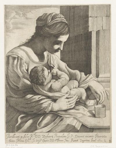 Maria met kind; Madonna della pappa