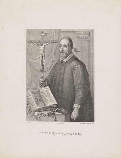 Portret van geestelijke Pandolfo Ricasoli