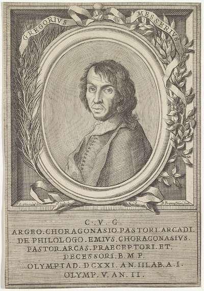 Portret van Gregorio Messere