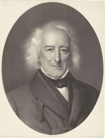 Portret van Jacob van Lennep; Jc. van Lennep