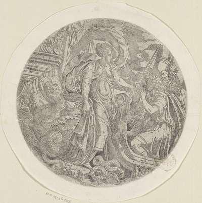 Circe biedt de mannen van Odysseus iets te drinken aan