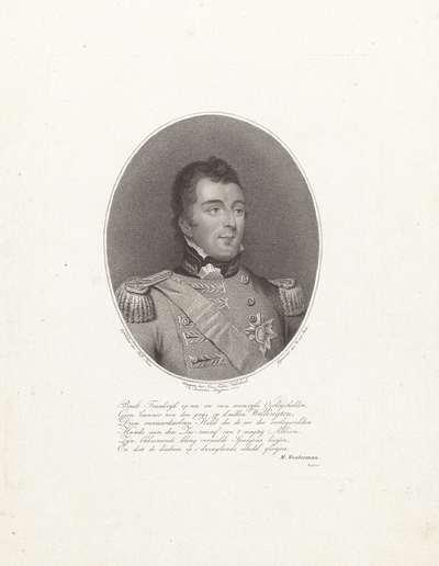 Portret van Arthur Wellesley, markies van Wellington