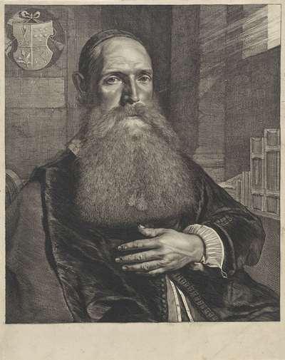 Portret van Willem de Rijck