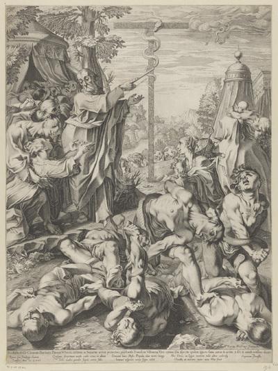 Mozes en de koperen slang