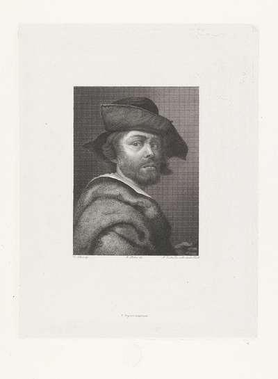 Portret van schilder Cristofano Allori
