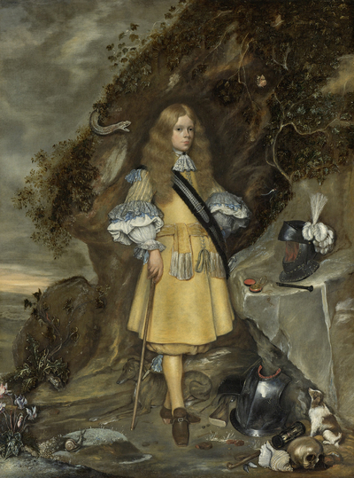 Image from object titled Memorial Portrait of Moses ter Borch