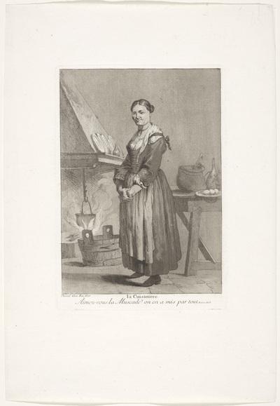De keukenmeid; La Cuisiniere; Divers Portraits
