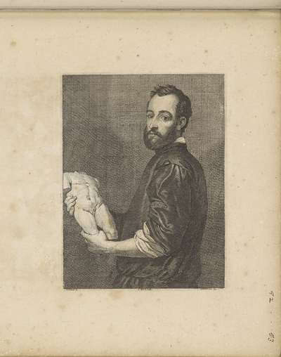 Portret van beeldhouwer Alessandro Vittoria