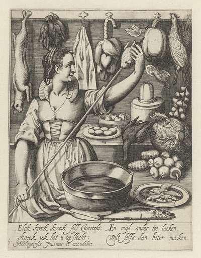 De keukenmeid