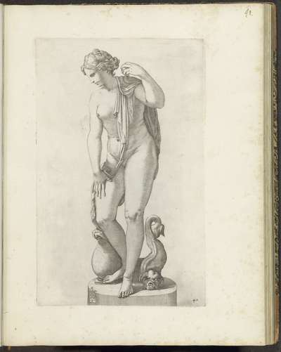 Standbeeld van Venus; Galleria Giustiniana del Marchese Vincenzo Giustiniani I