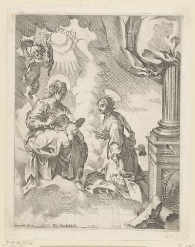 Maria met Kind en Catharina van Alexandrië