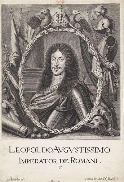 Portret van keizer Leopold I