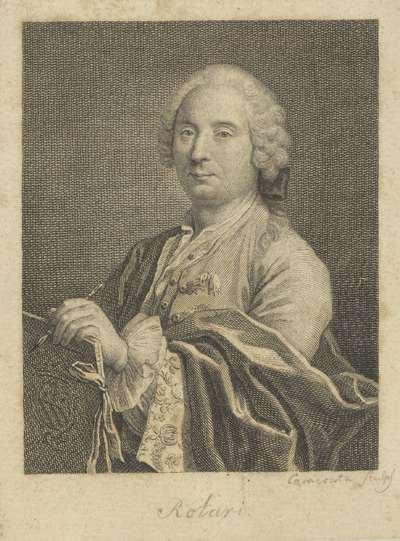 Portret van de schilder Pietro Rotari