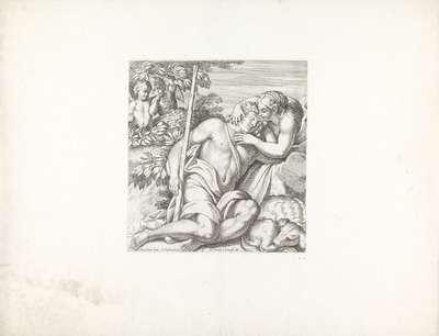 Diana en Endymion; Schilderingen in Palazzo Farnese te Rome; Galeria nel Palazzo Farnese in Roma