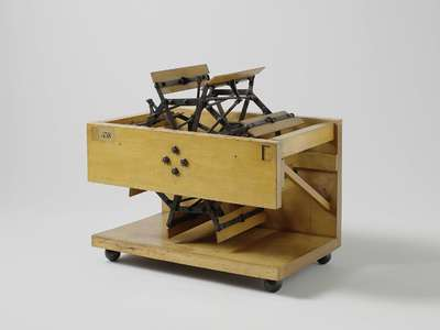 Model of a Paddle Wheel