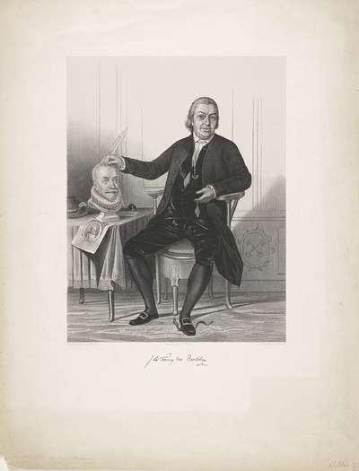 Portret van Johannes le Francq van Berkhey
