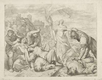 Het martelaarschap van de heilige Ursula en haar metgezellinnen