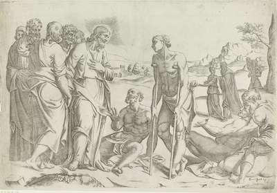 Christus bij de zieken