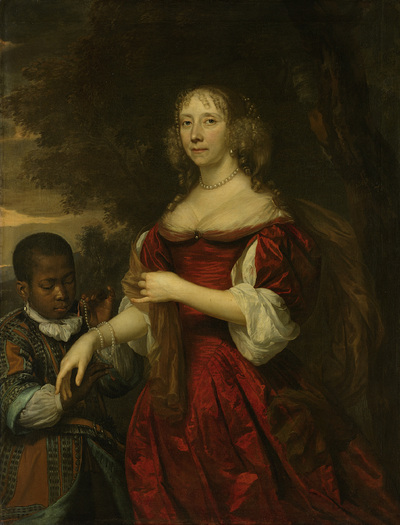 Image from object titled Margaretha van Raephorst (d 1690). Wife of Cornelis Tromp