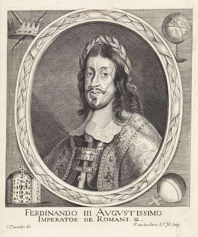 Portret van Duits keizer Ferdinand III