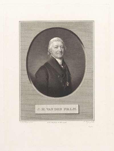 Portret van Johannes Hendricus van der Palm