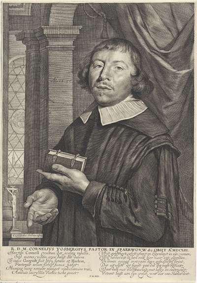 Portret van Cornelius Vosbergen