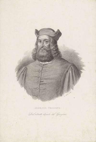 Portret van humanist Gian Giorgio Trissino