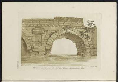 Boog van een brug; Raccolta di dissegni originali di Mauro Tesi