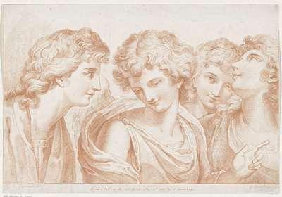 Vier engelen; Ciprianis beginselen van het tekenen; Ciprianis rudiments of drawing