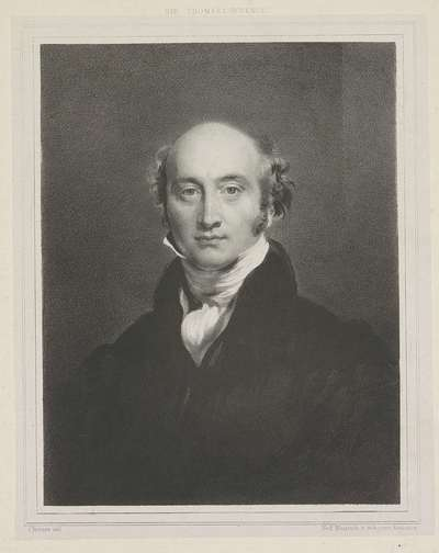 Portret van George Canning