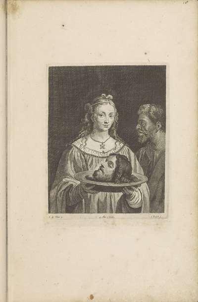 Salome met het hoofd van Johannes de Doper
