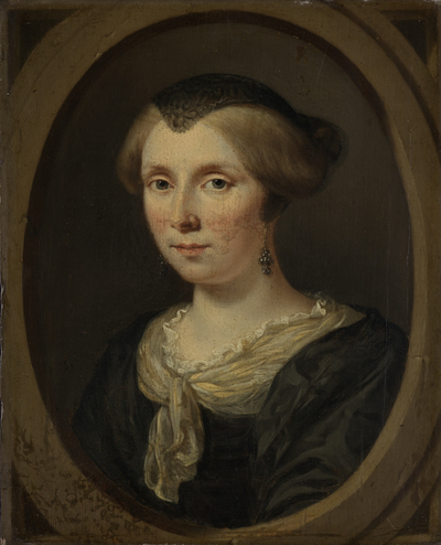 Image from object titled Portrait of Margaretha Verkolje, Wife of Reinier Couturier