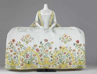 Image from object titled Dress (Mantua) with Train