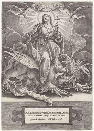 Martelaarschap van de H. Margaretha van Antiochië; Martelaarschap van vrouwelijke heiligen
