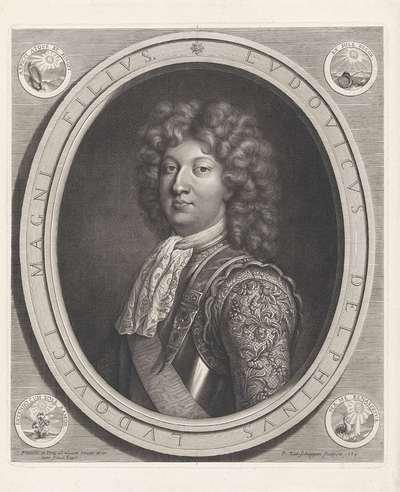 Portret van Lodewijk, dauphin van Frankrijk