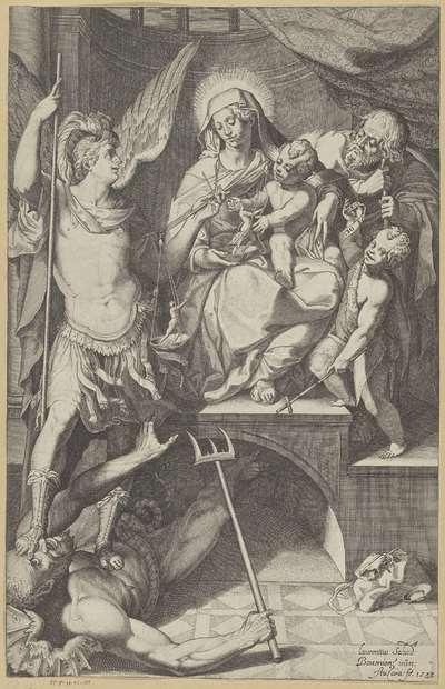 Heilige Familie met de aartsengel Michaël en de jonge Johannes de Doper