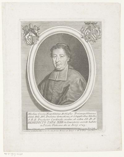 Portret van kardinaal Niccolò Coscia