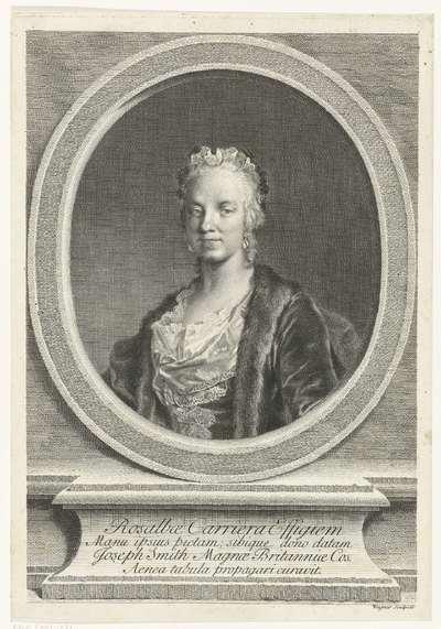 Portret van Rosalba Carriera