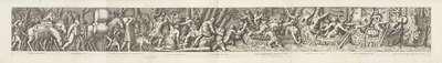 Bevoorraden van schepen; De aankomst van de Etrusken in Latium