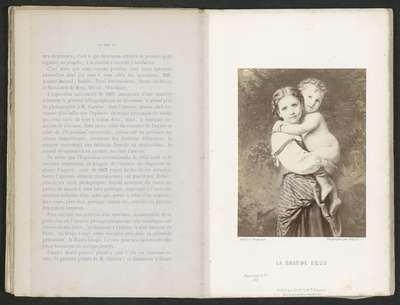 Fotoreproductie van het schilderij La grande sœur; La grande sœur