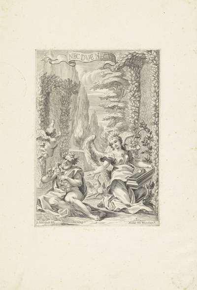 Allegorie op de Opstanding van Christus (?); Nec Dvæ Nec Vna