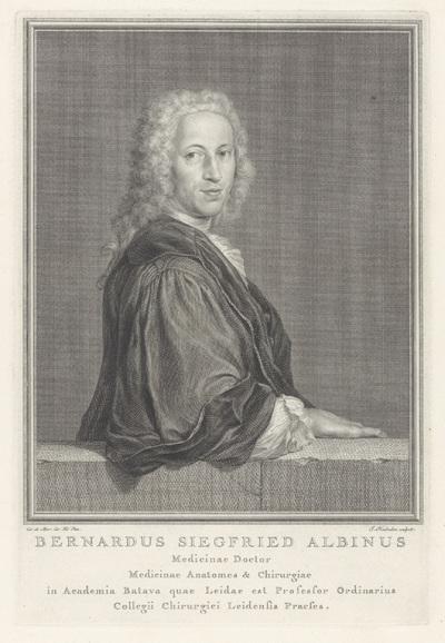 Portret van Bernard Siegfried Albinus